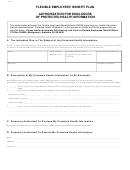 Flexible Employees' Benefit Plan Form - 2006