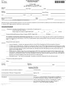 Form Fr-9 - Retirement System Information Request