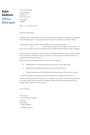 Office Manager Cover Letter Sample - Dayjob - 2013