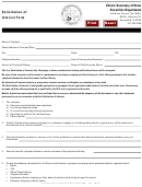 Solicitation Of Interest Form - State Of Illinois
