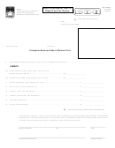 Form Dr 309634 - Local Government User Of Diesel Fuel Tax Return