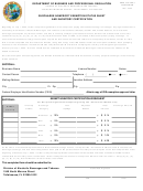 Dbpr Form Ab&t 4000a-005exm - Exempt Inventory Certification Worksheet -