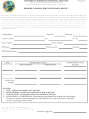 Dbpr Form Ab&t 4000a-400 - Smoking Designation Procedures Report