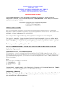 Form Dbpr Abt-6018 - Application For Primary American Source Of Supply And Brand/label Registration