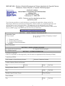 Form Dbpr Abt-6024 - Application For Cigarette/tobacco Wholesaler, Tobacco Exporter, Or Cigarette Distributing Agent