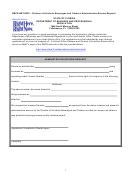 Form Dbpr Abt-6030 - Administrative Escrow Request