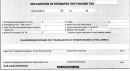 Declaraion Of Estimated Troy Income Tax Form