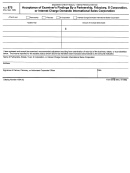 Form 875 - Acceptance Of Examiner's Findings By A Partnership, Fiduciary, S Corporation, Or Interest Charge Domestic International Sales Corporation - 1986