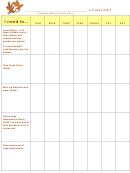 Pet Care Chore Chart - Leopard Gecko