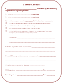 Curfew Contract Template