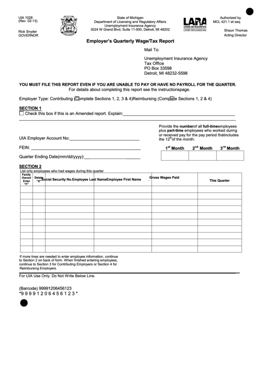 fillable form uia 1028  tax
