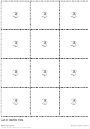 Front And Back Quarter Square Templates