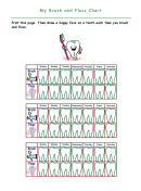 My Brush And Floss Chart Template