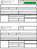 Form 4054 - Power Of Attorney
