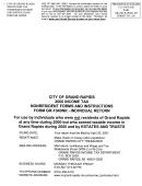 Form Gr-1040nr Instruction