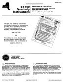 Form St-100 Instructions
