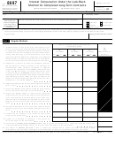 Form 8697 - Interest Computation Under The Look-back Method For Completed Long-term Contracts Form - Department Of The Treasury Internal Revenue Service