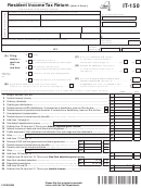 Form It-150 - Resident Income Tax Return Form - New York State Department Of Taxation And Finance - New York