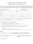 Extension Request Form - Municipal Income Tax