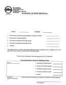 Business License Renewal Form - City Of Henderson