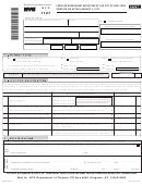 Form Nyc 1127 - Form For Nonresident Employees Of The City Of New York Hired On Or After January 4, 1973 - 2009