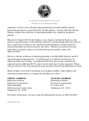 Certificate Of Limited Partnership For Florida Limited Partnership Template - Florida Department Of State - Division Of Corporations