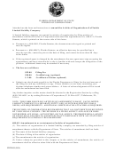 Articles Of Amendment Form - Florida Department Of State - Division Of Corporations