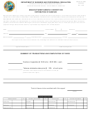 Dbpr Form Ab&t 4000a-245 - Manufacturer's Monthly Report For Distribution Of Samples - Department Of Business And Professional Regulation - Florida