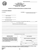 Request For Review From Decision Of Hearing Officer Form - 1999
