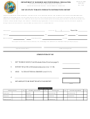 Dbpr Form Ab&t 4000a-305-1 - Out-of-state Tobacco Products Distributor's Report - Department Of Business And Professional Regulation - Florida