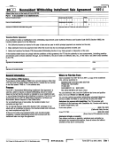 Form 597-i - Nonresident Withholding Installment Sale Agreement