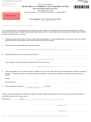 Form Llp-1 - Statement Of Qualification - 2001