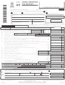 Form Nyc-4s - General Corporation Tax Return - 2005