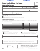 Form 407 - Division Of Alcoholic Beverages And Tobacco - Division Of Alcoholic Beverages And Tobacco