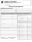 Electrical Permit Application Form - Permit Service Center