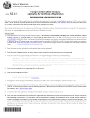 Form 521-i - Limited Liability Company Application For Certificate Of Registration Information And Instructions