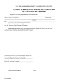 Form 906 - Closing Agreement As To Final Determination Covering Specific Matters Form