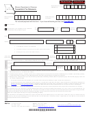 Form Mo W-3 - Transmittal Of Tax Statements
