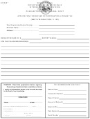 Form Wv/char-3 - Application For Refund Of Corporation License Tax