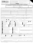 Form De 1p - Registration Form For Employers Depositing Only Personal Income Tax Withholding - Employment Development Department Of Michigan