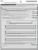 Form Ap-206-3 - Texas Application For State Tax Exemption For Homeowners' Associations