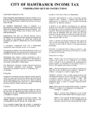 Form H-1120 Corporation Return Instruction
