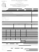 Form Ogb - 18 - Monthly Report For Products From Processing, Cleansing, Or Extraction Facilities