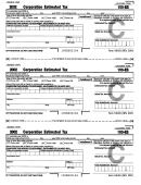 Form 100-es - Corporation Estimated Tax