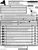 Form St-810 - New York State And Local Sales And Use Tax Return Quarterly For Part-quarterly Filers - 2001