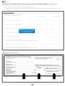 Form 01-790 (1-4) - Worksheet For Completing The Sales And Use Tax Return Forms