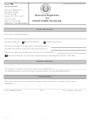 Form 703 - Renewal Of Registration Of A Limited Liability Partnership Form