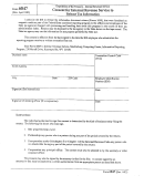 Form 6847 - Consent For Internal Revenue Service To Release Tax Information Form