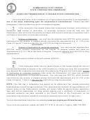 Form Scc743 - Instructions