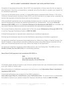 Form De 927b - Installment Agreement Request Instructions